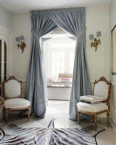 1-rideau-ocultant-gris-bleu-salon-moderne-de-style-baroque-tapis ...