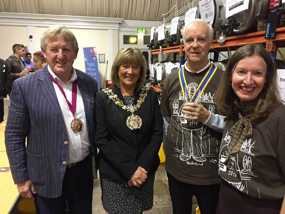 Tameside: Civic Mayor, Rotary President and Beer Festival Entertainment Director