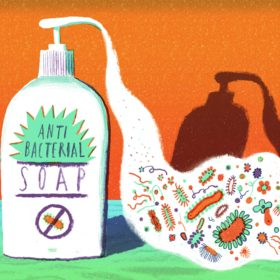 Using too much antibacterial soap?